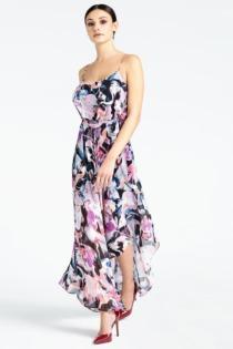 Asymmetrisches Kleid Marciano Blumenprint