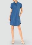 Barbour Damen Kleid blau LDR0155BL42