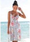 Beachtime Druckkleid, mit Blumendruck