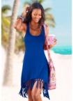 Beachtime Longshirt, mit Fransen