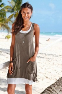 Beachtime Strandkleid, im Lagenlook