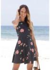 Beachtime Strandkleid, mit dezenten Pünktchen