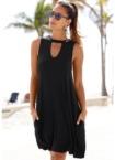 Beachtime Strandkleid, mit modischem Ausschnitt