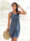 Beachtime Strandkleid, mit Ornamentdruck