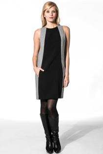 Calvin Klein Damen Kleid grau KWW447/R3L00/999