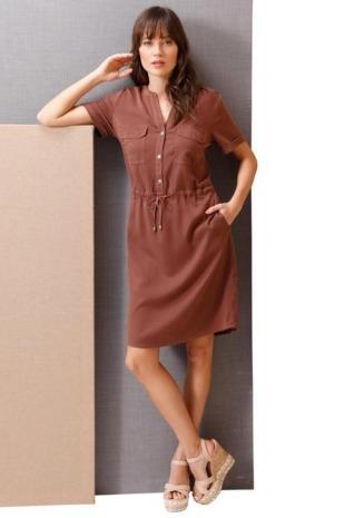 CREATION L PREMIUM Sommerkleid »Lyocell-Kleid«