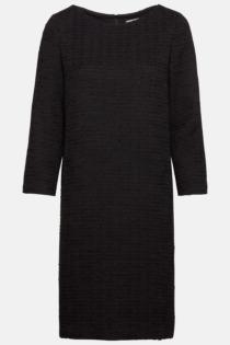 Hallhuber Bouclé-Kleid für Damen Gr. 38 in schwarz