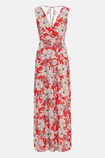 Hallhuber Maxikleid mit Blumendruck für Damen Gr. 42 in multicolor