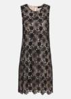 Hallhuber Spitzenkleid mit Kontrastfutter für Damen Gr. 42 in schwarz