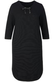 Jersey-Kleid 3/4-Arm Emilia Lay schwarz Größe: 52
