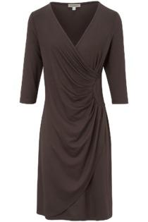Jersey-Kleid 3/4-Arm Uta Raasch beige Größe: 46