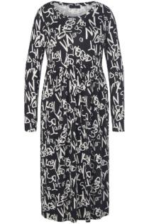 Jersey-Kleid Emilia Lay schwarz Größe: 40