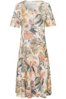 Jersey-Kleid Green Cotton beige Größe: 52