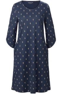 Jersey-Kleid Green Cotton blau Größe: 50
