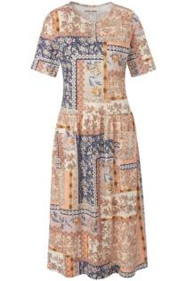 Jersey-Kleid Green Cotton mehrfarbig Größe: 50