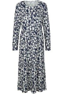 Jersey-Kleid Peter Hahn blau Größe: 52