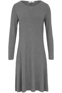 Jersey-Kleid Peter Hahn grau Größe: 40