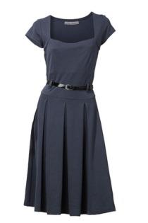 Jerseykleid Carree Ausschnitt