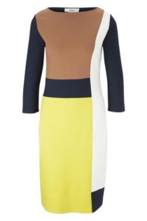 Jerseykleid Colourblocking