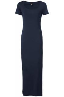 Jerseykleid in Maxi-Länge