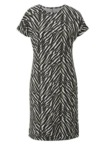 Jerseykleid mit modischem Druck