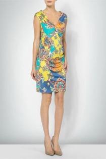 joyce & girls Damen Kleid 1031/paisley blue