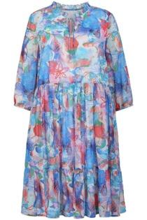 Kleid 3/4-Arm Emilia Lay blau Größe: 54