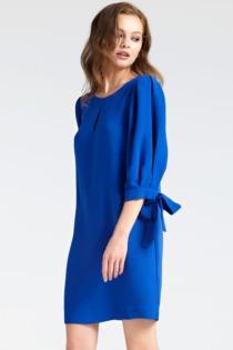 Kleid Ärmelenden Mit Schleifen