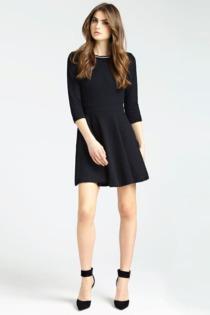 Kleid Ausschnitt-Detail