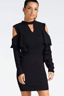 Kleid Details Volants