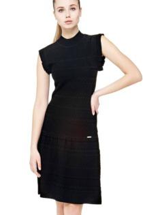 Kleid Durchbruchmuster