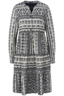 Kleid im Boho-Style MYBC mehrfarbig Größe: 48