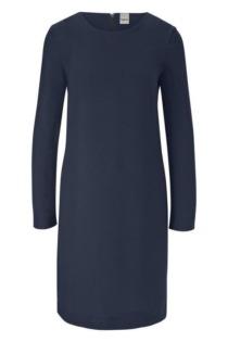 Kleid in Crepe-Qualität