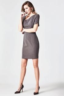Kleid Marciano Asymmetrischer Ausschnitt