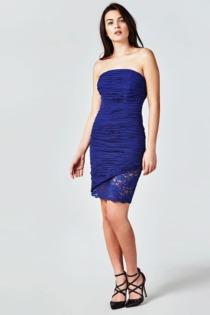 Kleid Marciano Stretchverarbeitung Mit Spitze