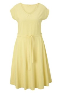 Kleid mit Bindegürtel