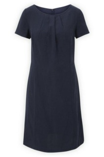 Kleid mit Leinen