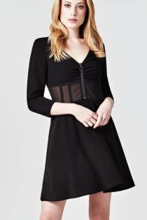 Kleid Reißverschluss Vorn