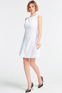 Kleid Spitze Rückseitiger Cut-Out