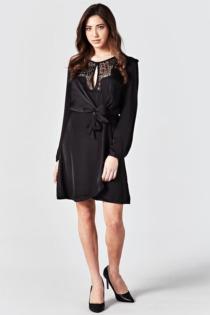 Kleid Spitzendetail