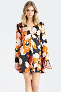 Kurzes Kleid Marciano Blumenprint