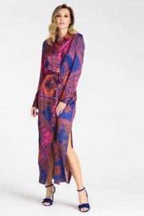 Langes Blusenkleid Marciano Paisley Print