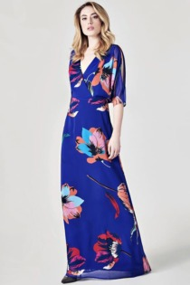Langes Kleid Marciano Blumenprint