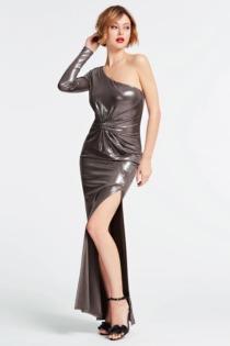 Langes Kleid Marciano Metall-Optik