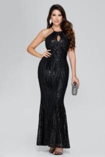 Langes Kleid Marciano Muster