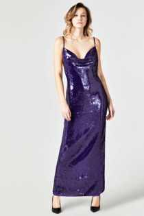 Langes Kleid Marciano Pailletten