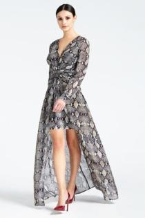 Langes Kleid Marciano Python-Print