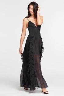 Langes Kleid Marciano Volants