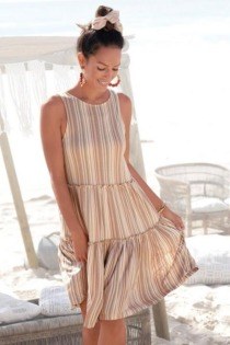 LASCANA Sommerkleid, in weiter Form