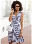 LASCANA Sommerkleid, mit Streifenprint